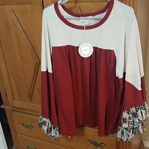 Boutique top new size xl could fit 2 xl also